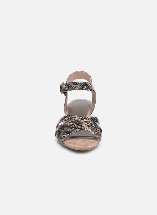Sandales et nu-pieds Jana shoes JOE Marron vue portées chaussures