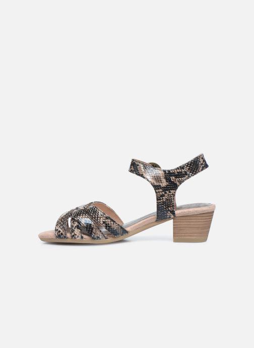 Sandales et nu-pieds Jana shoes JOE Marron vue face