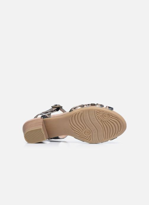 Sandales et nu-pieds Jana shoes JOE Marron vue haut
