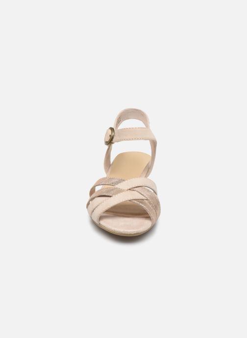 Sandalias Jana shoes JOE Beige vista del modelo