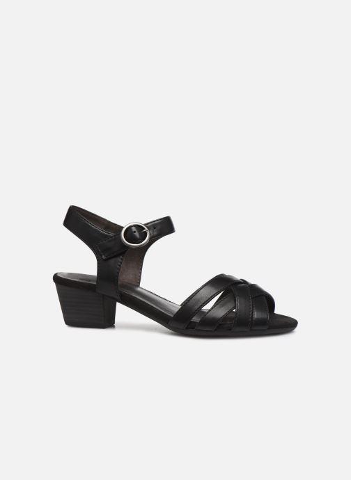 Sandales et nu-pieds Jana shoes JYST Noir vue derrière