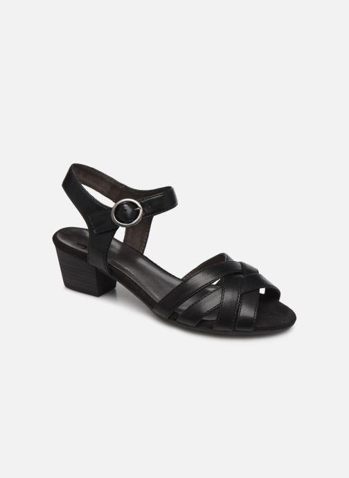 Sandales et nu-pieds Jana shoes JYST Noir vue détail/paire