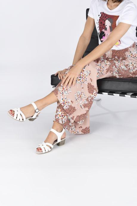 Sandali e scarpe aperte Jana shoes JYST Bianco immagine dal basso