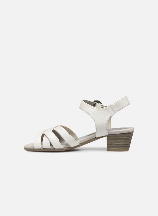 Sandali e scarpe aperte Jana shoes JYST Bianco immagine frontale