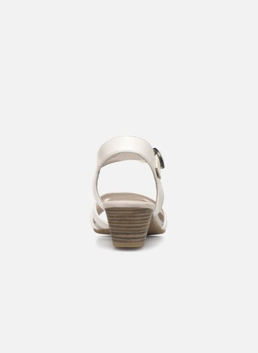 Sandali e scarpe aperte Jana shoes JYST Bianco immagine destra