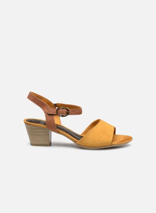Sandales et nu-pieds Jana shoes JAPH Jaune vue derrière
