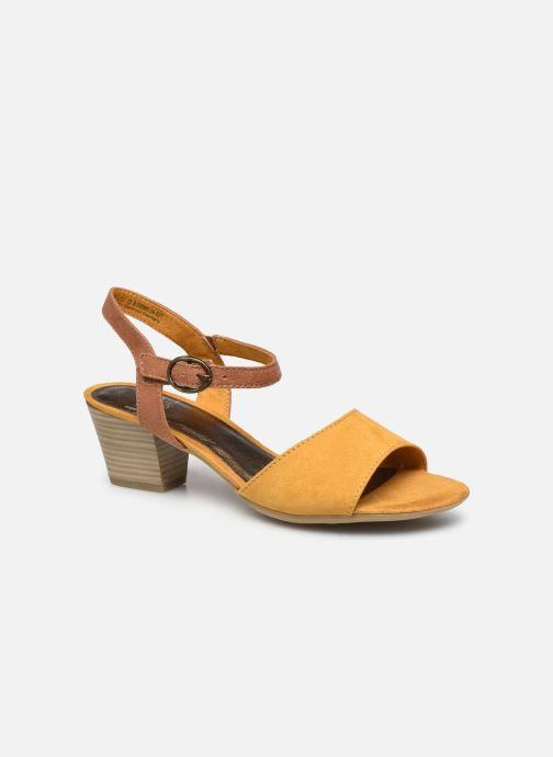 Sandales et nu-pieds Jana shoes JAPH Jaune vue détail/paire