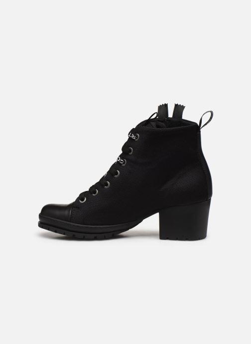 Bottines et boots Art CAMDEN 1239 Noir vue face