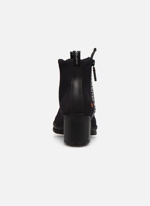 Bottines et boots Art CAMDEN 1239 Noir vue droite