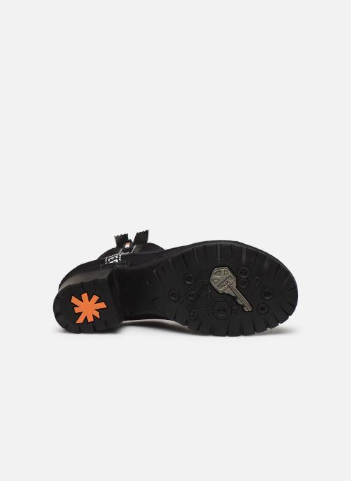 Bottines et boots Art CAMDEN 1239 Noir vue haut