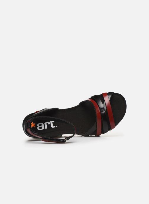 Sandales et nu-pieds Art GÜELL 1336 Noir vue gauche