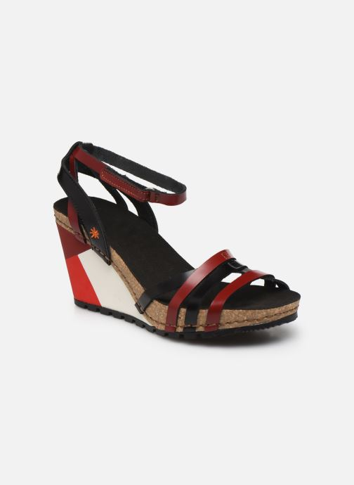 Sandales et nu-pieds Art GÜELL 1336 Noir vue détail/paire