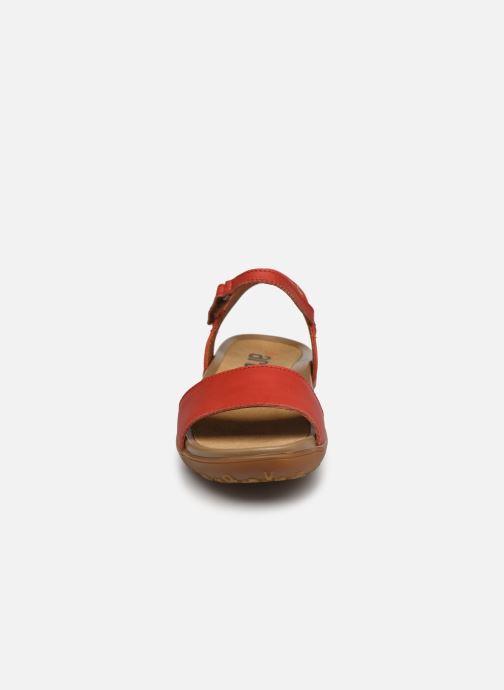 Sandales et nu-pieds Art ANTIBES 1506 Orange vue portées chaussures