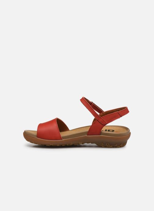 Sandales et nu-pieds Art ANTIBES 1506 Orange vue face