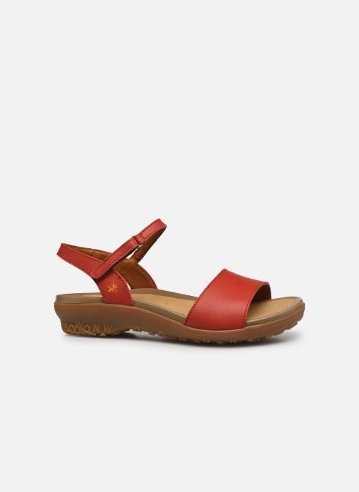 Sandales et nu-pieds Art ANTIBES 1506 Orange vue derrière