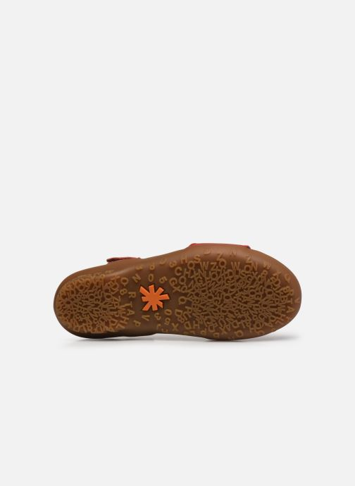 Sandales et nu-pieds Art ANTIBES 1506 Orange vue haut
