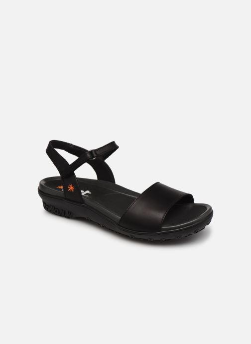 Sandales et nu-pieds Art ANTIBES 1506 Noir vue détail/paire