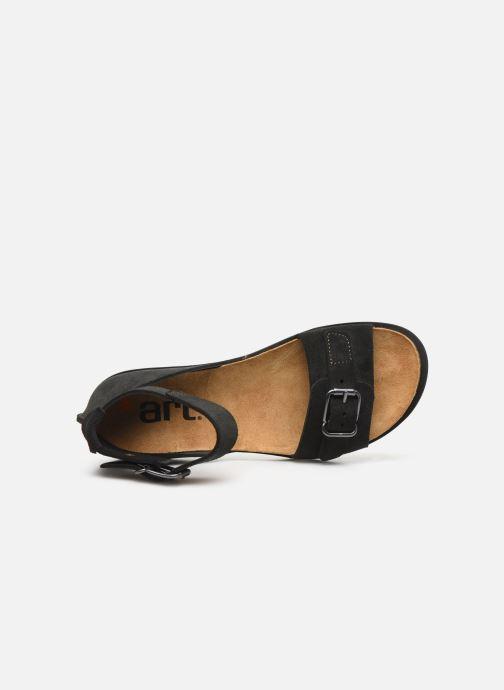 Sandali e scarpe aperte Art RHODES 1711 Nero immagine sinistra