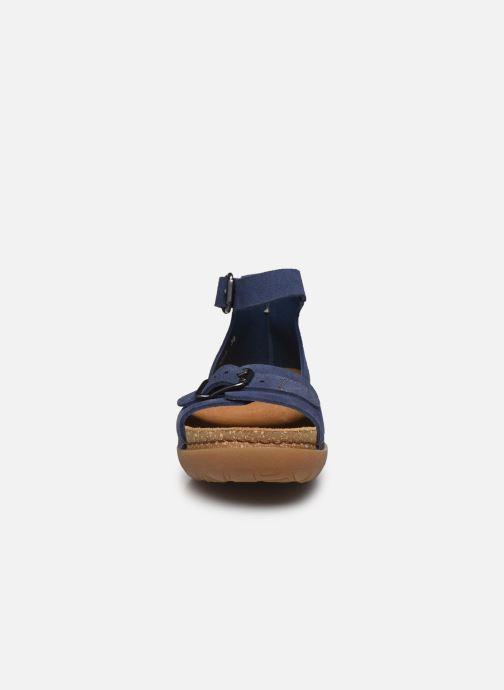 Sandalias Art RHODES 1711 Azul vista del modelo