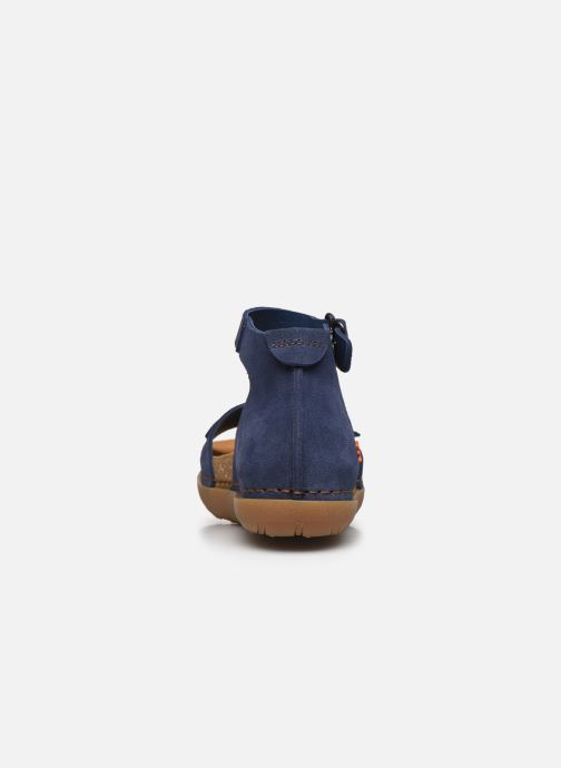 Sandalias Art RHODES 1711 Azul vista lateral derecha
