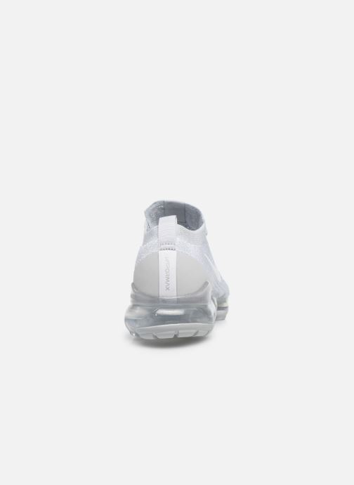Deportivas Nike W Air Vapormax Flyknit 3 Blanco vista lateral derecha