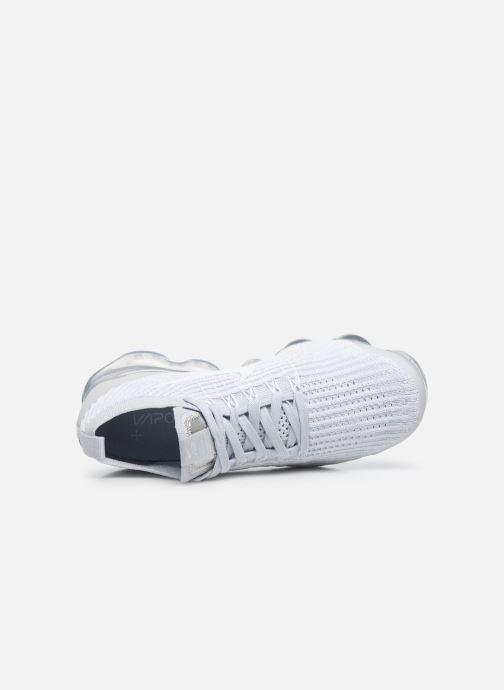 Sneaker Nike W Air Vapormax Flyknit 3 weiß ansicht von links