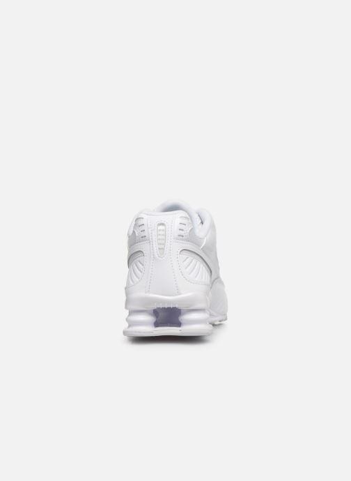 Deportivas Nike W Nike Shox Enigma 9000 Blanco vista lateral derecha