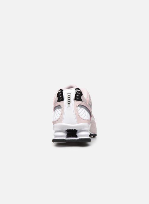 Deportivas Nike W Nike Shox Enigma 9000 Rosa vista lateral derecha