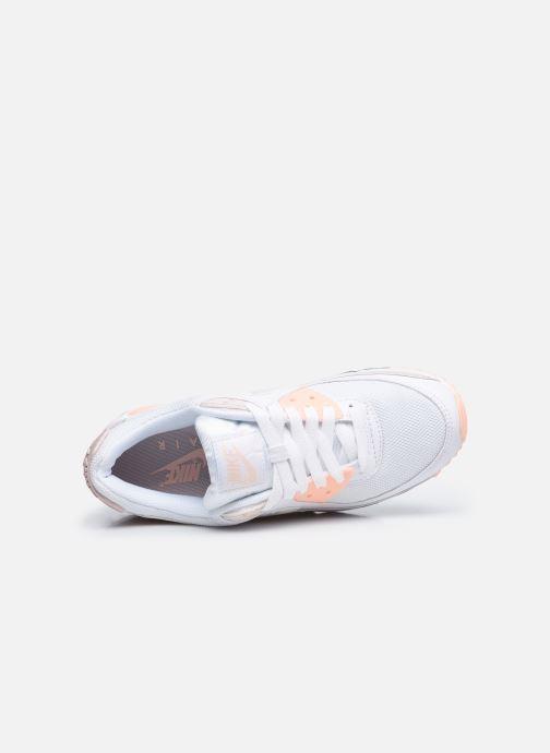 Baskets Nike W Air Max 90 Rose vue gauche