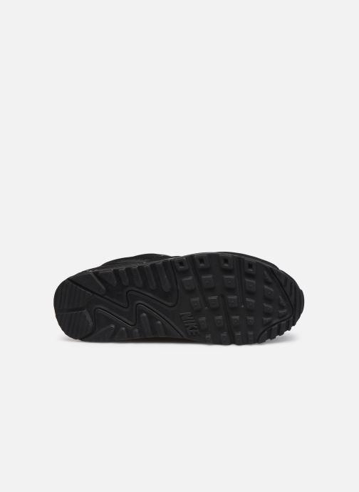 Sneaker Nike W Air Max 90 schwarz ansicht von oben