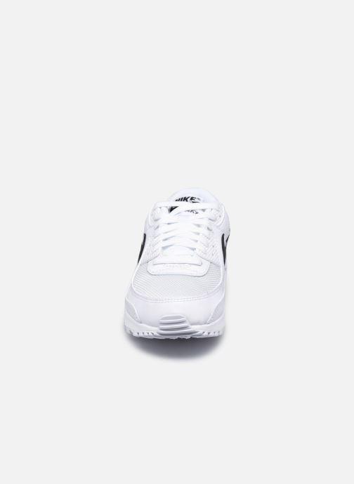 Baskets Nike W Air Max 90 Blanc vue portées chaussures