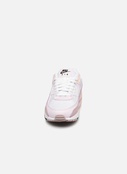 Sneakers Nike W Air Max 90 Bianco modello indossato