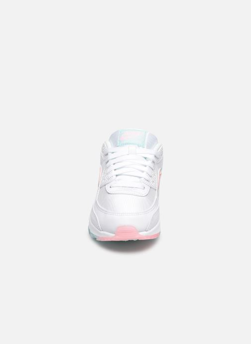 Sneaker Nike W Air Max 90 weiß schuhe getragen