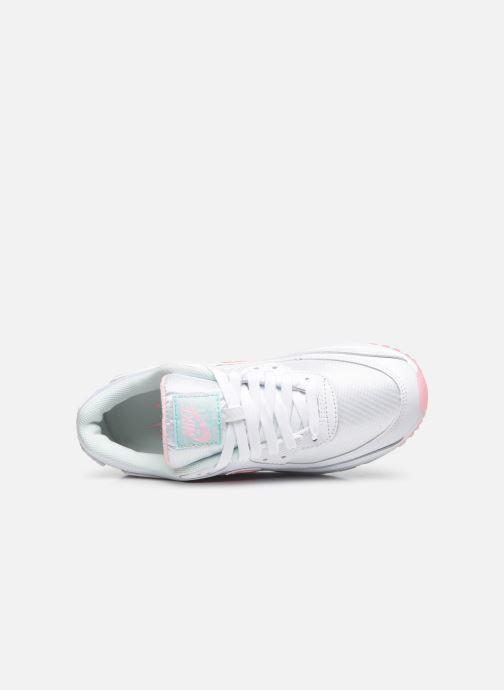 Sneaker Nike W Air Max 90 weiß ansicht von links