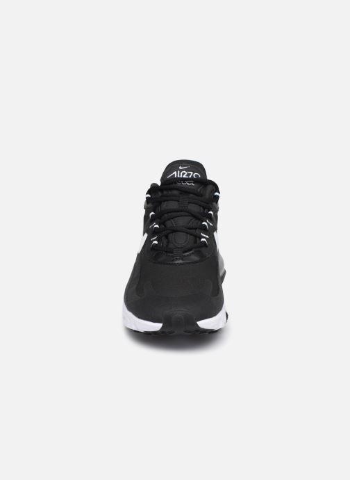 Sneakers Nike W Air Max 270 React Nero modello indossato