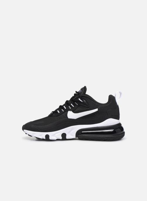 Sneaker Nike W Air Max 270 React schwarz ansicht von vorne