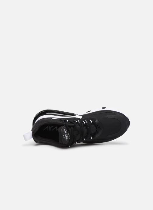 Sneaker Nike W Air Max 270 React schwarz ansicht von links