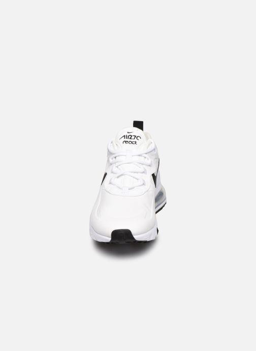Sneakers Nike W Air Max 270 React Bianco modello indossato