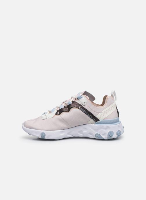 Sneakers Nike W Nike React Element 55 Se Roze voorkant