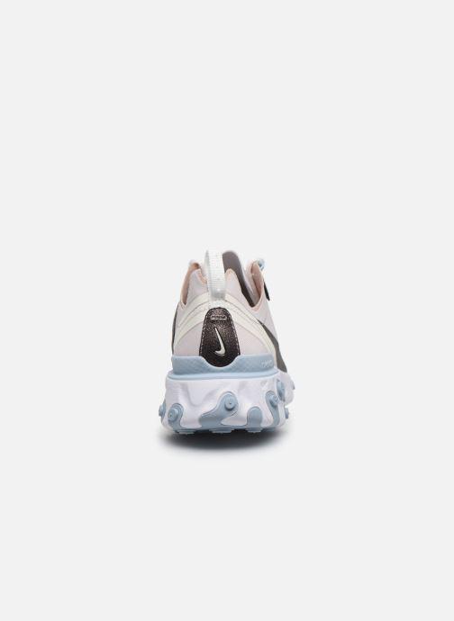 Deportivas Nike W Nike React Element 55 Se Rosa vista lateral derecha