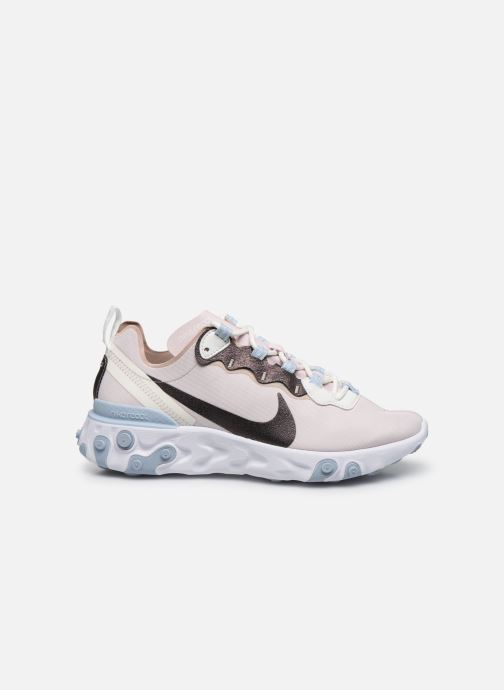 Deportivas Nike W Nike React Element 55 Se Rosa vistra trasera