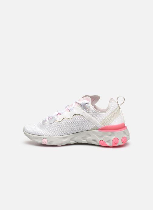 Sneakers Nike Wmns Nike React Element 55 Wit voorkant