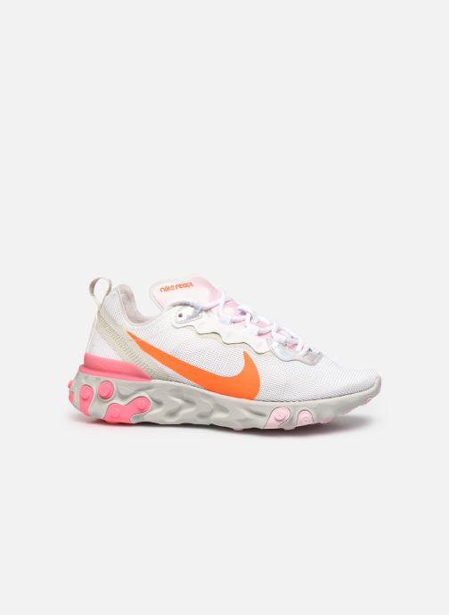 Sneakers Nike Wmns Nike React Element 55 Wit achterkant