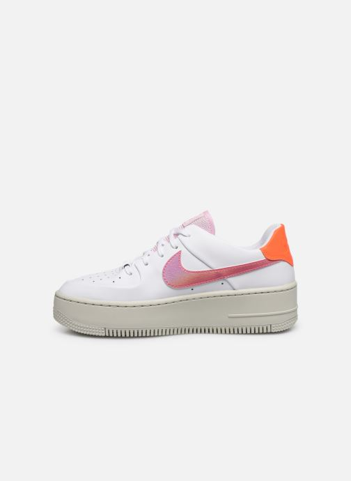Trainers Nike Wmns Nike Af1 Sage Low White front view
