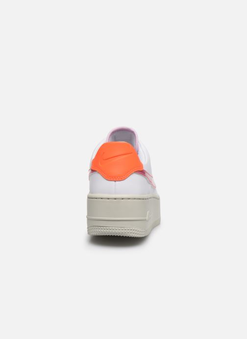 Trainers Nike Wmns Nike Af1 Sage Low White view from the right