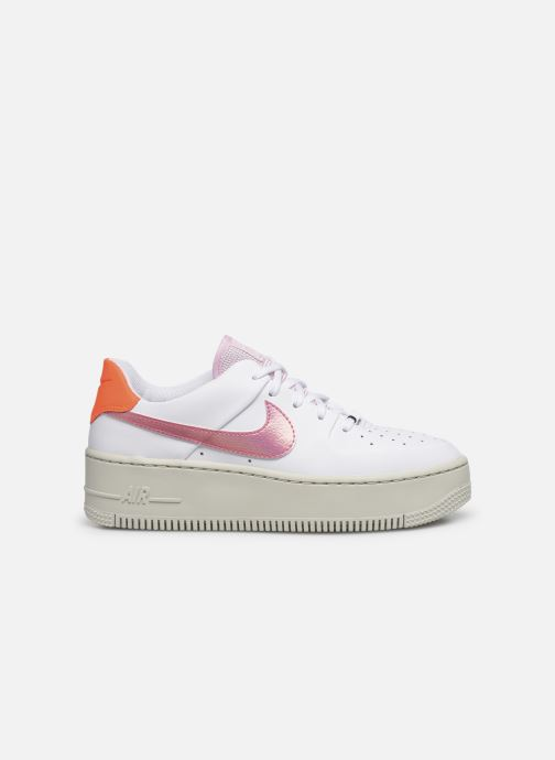 Trainers Nike Wmns Nike Af1 Sage Low White back view