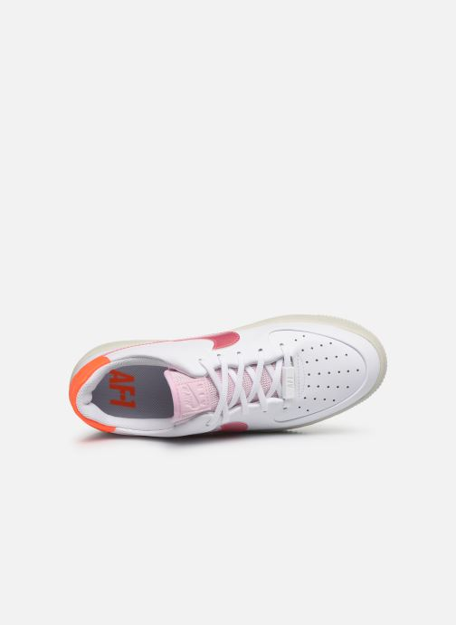 Sneakers Nike Wmns Nike Af1 Sage Low Bianco immagine sinistra