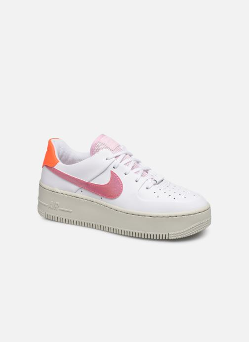 Trainers Nike Wmns Nike Af1 Sage Low White detailed view/ Pair view