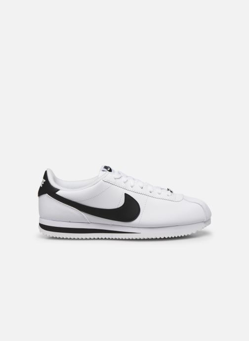 Deportivas Nike Cortez Basic Leather Blanco vistra trasera