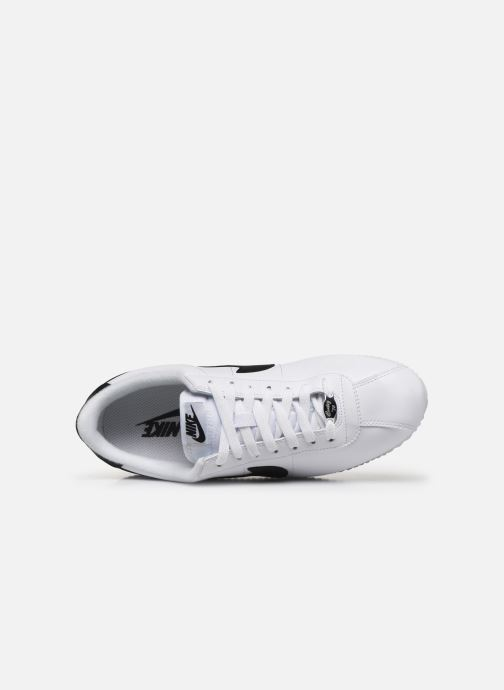 Deportivas Nike Cortez Basic Leather Blanco vista lateral izquierda